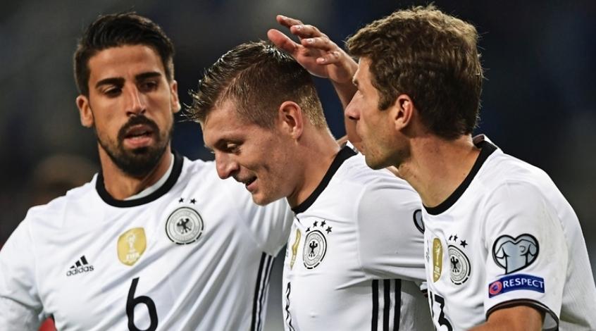Германия - Чехия 3:0. Король Богемии