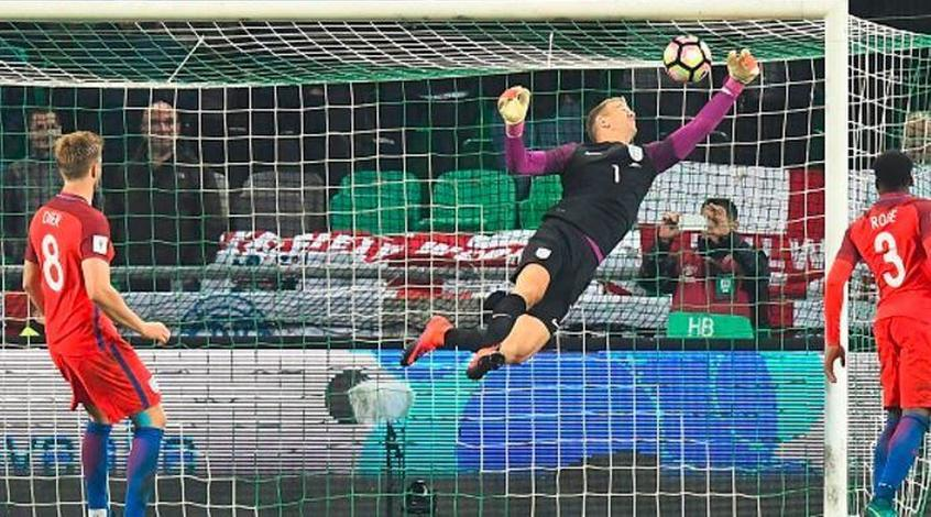 Словения - Англия 0:0. Бенефис Джо Харта