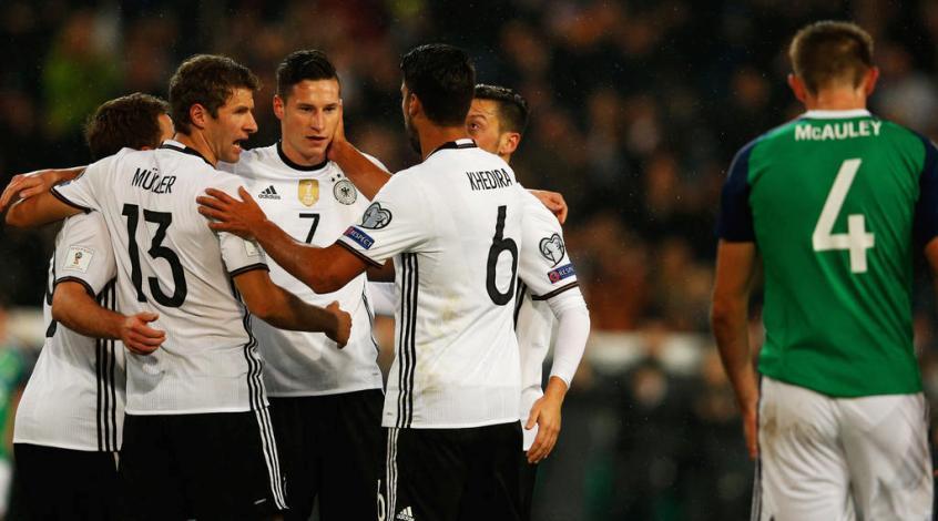 Германия - Северная Ирландия 2:0. Почти не вспотев