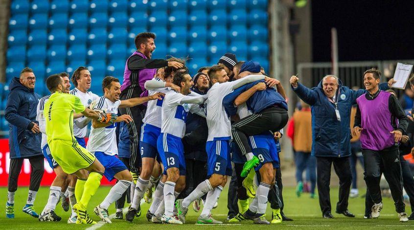 Сборная Сан-Марино забила свой первый мяч в квалификации Евро-2020