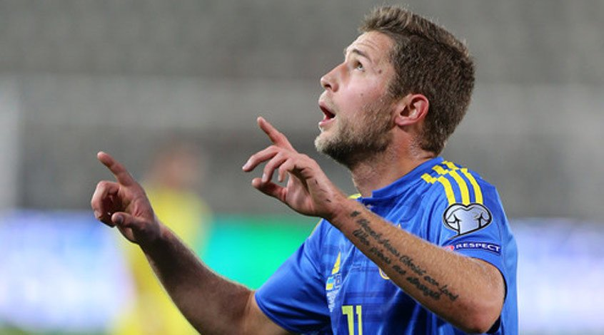 Два турецких клуба просмотрят Артёма Кравца в матче Украина - Турция
