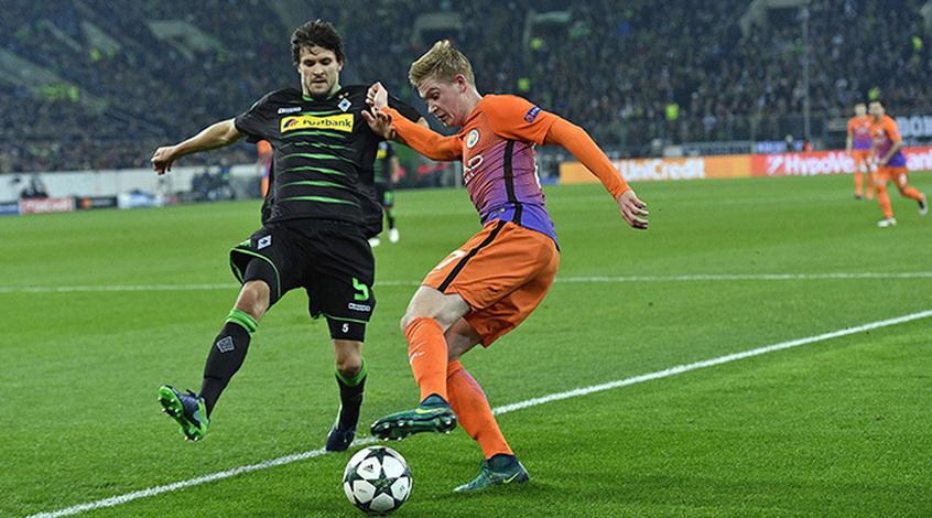 Манчестер сити боруссия 1- 1