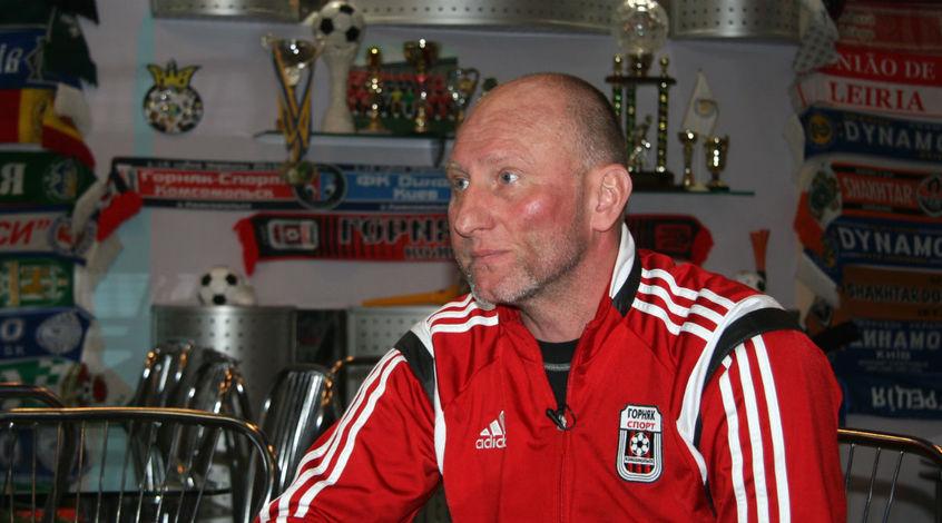 Ігор Жабченко - найкращий тренер 12-го туру Першої ліги