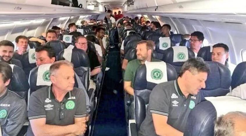 "В Колумбии разбился самолет с командой чемпионата Бразилии ""Шапекоэнсе"" на борту"
