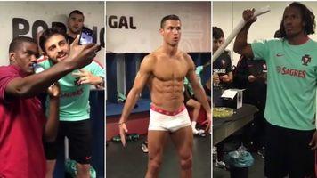 Mannequin Challenge в исполнении футболистов (Видео)
