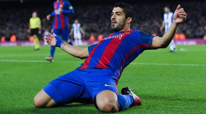 """Барселона"" - ""Атлетико"": коэффициент 2,00 на гол Луиса Суареса"