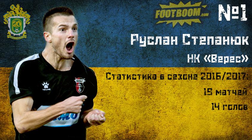 Руслан Степанюк - лучший игрок первой лиги!