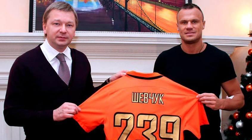 Сергей Палкин: Шевчук стал живой футбольной легендой и символом профессионализма