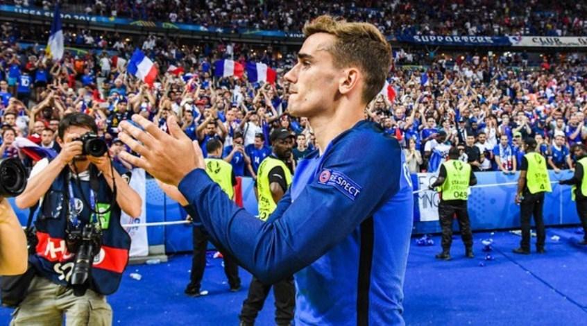 Франция - Австралия: коэффициент 1,96 на гол Антуана Гризманна