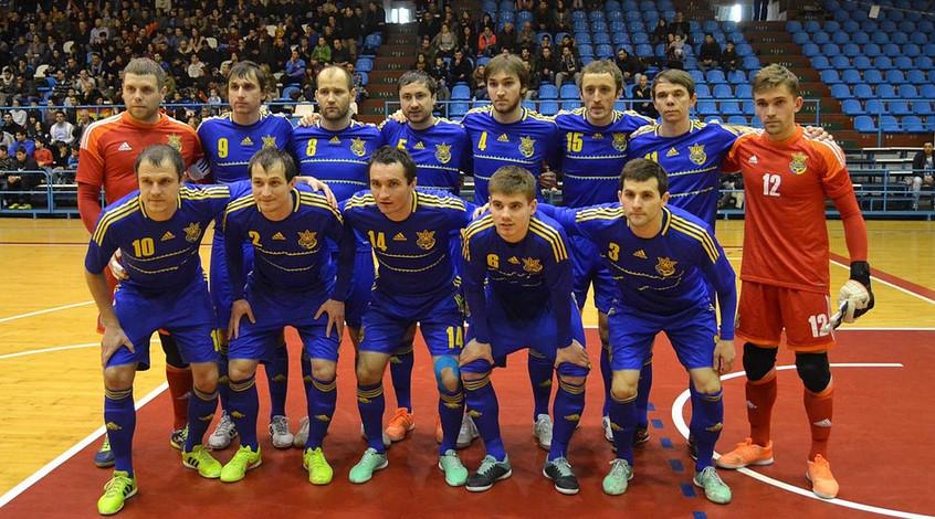 Збірна України з футзалу зіграла внічию у першому спарингу з Хорватією