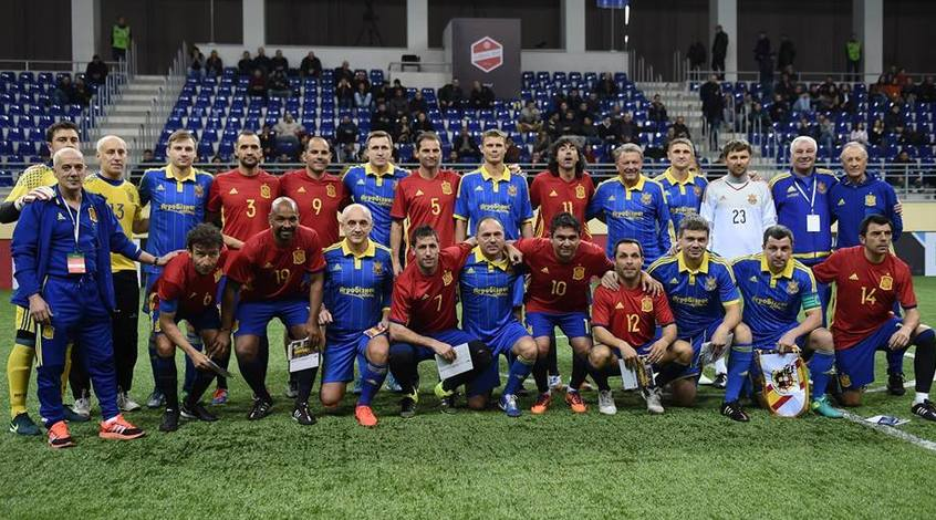 Збірна ветеранів України проведе два матчі в Севільї