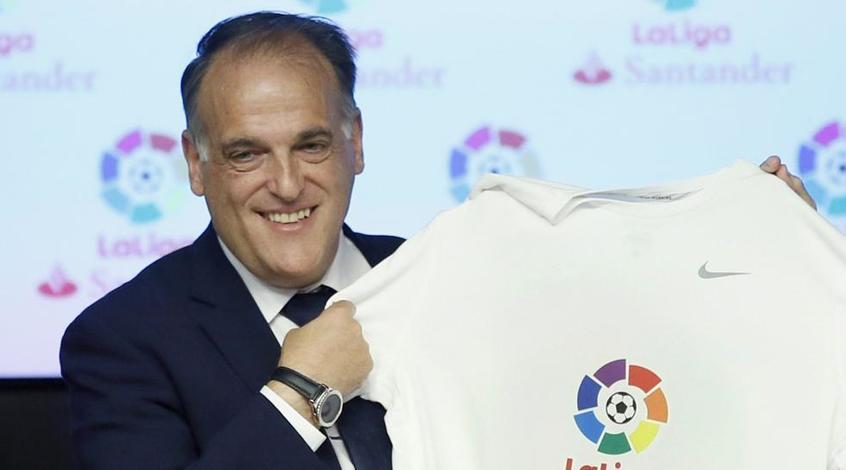 Хавьер Тебас недоволен уровнем конкуренции в чемпионате Испании