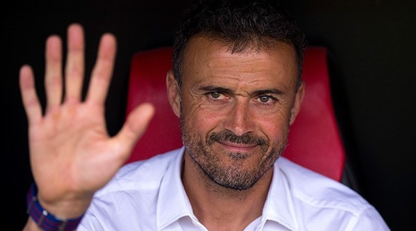 """Луис Энрике: """"Сборная Испании забивает больше голов, чем """"Барселона"""""""