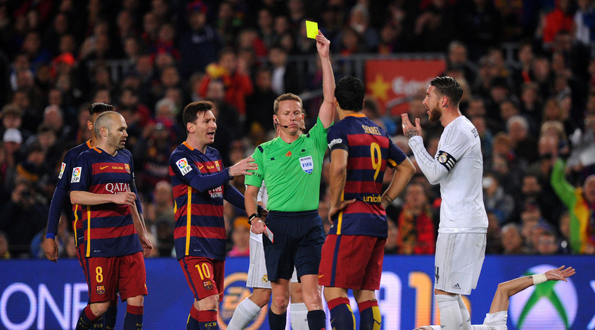"""Коэффициент 4,95 на то что в полуфинале Лиги чемпионов встретятся """"Реал"""" и """"Барселона"""""""