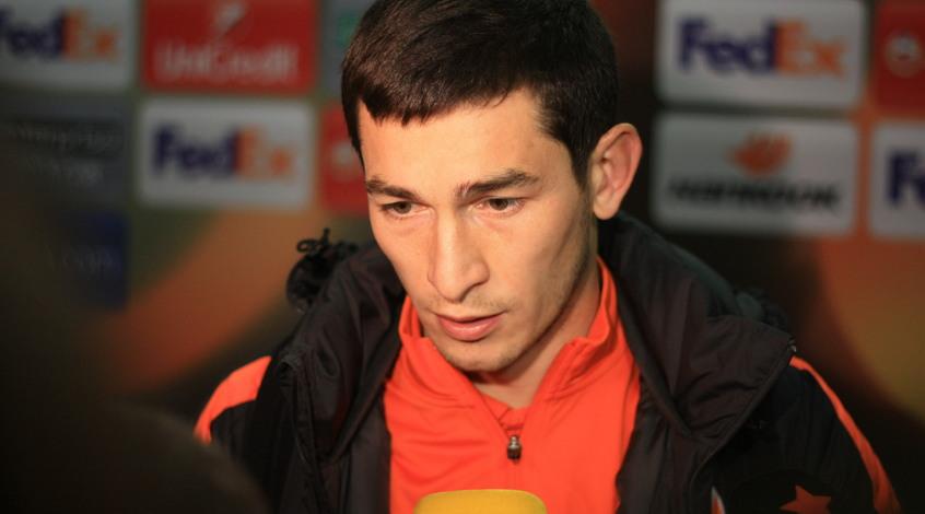 """Тарас Степаненко: """"Мне кажется, что пенальти не было, я сыграл в мяч"""""""