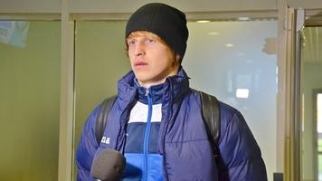 """Артем Шабанов: """"Перед выходом на поле попил воды и не мог закрутить бутылку"""""""