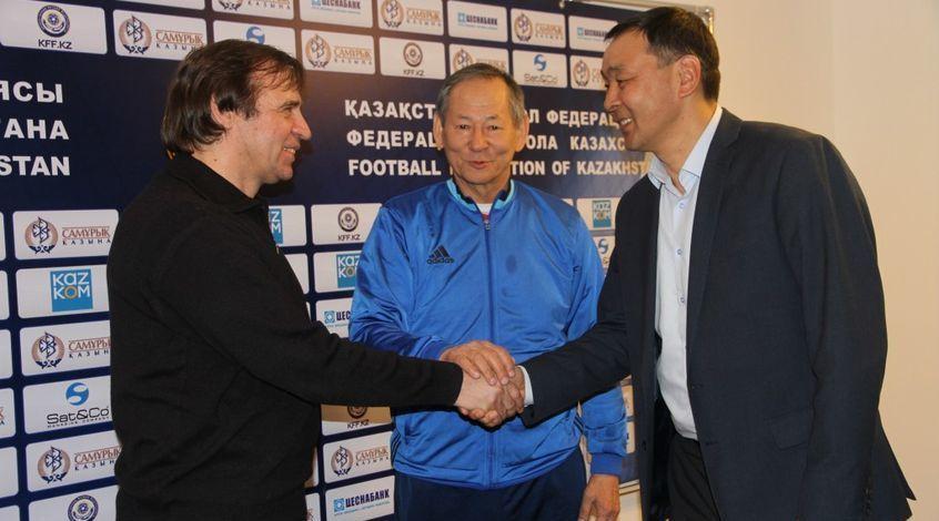 Александр Бородюк – главный тренер сборной Казахстана