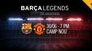 "Матч легенд ""Барселоны"" и ""Манчестер Юнайтед"": стал известен состав участников (Фото)"