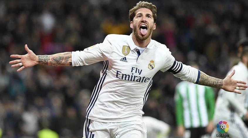 """""""Реал"""" - """"Валенсия"""": коэффициент 4,50 на гол Серхио Рамоса"""