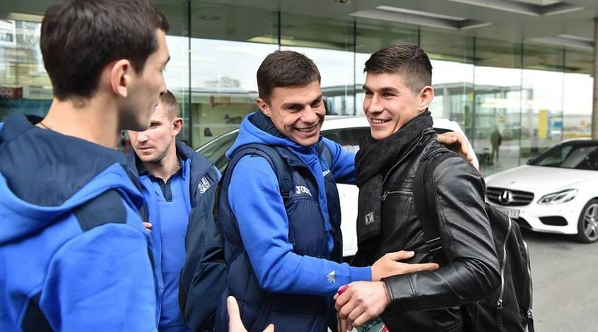 Руслан Малиновский приболел, а Евгений Шахов последним прибыл в расположение сборной Украины (Фото)