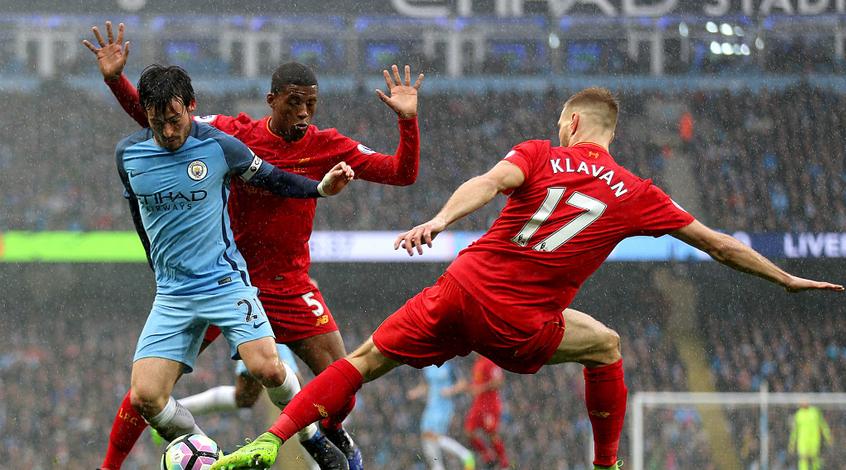 """""""Манчестер Сити"""" - """"Ливерпуль"""" 1:1. Матч нереализованных моментов"""