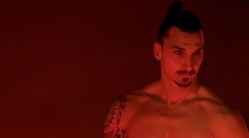 """Златан Ибрагимович оригинально предложил миру """"жевать жвачку"""" (Видео)"""