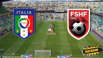 Отбор к ЧМ-2018. Италия - Албания 2:0. Де Бьязи итальянцев не остановил (Видео)