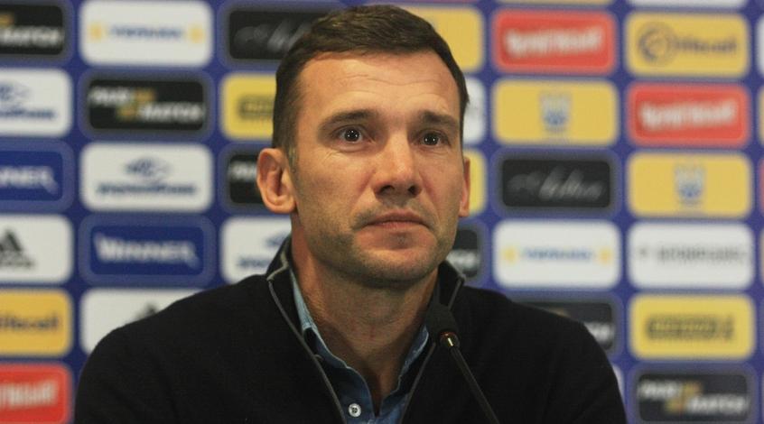 Финляндия - Украина: послематчевая пресс-конференция Андрея Шевченко