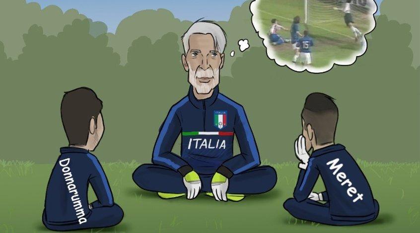 Карьера Буффона в сборной Италии (Фото)
