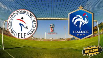 Отбор к ЧМ-2018. Люксембург - Франция 1:3. Обязательная программа (Видео)
