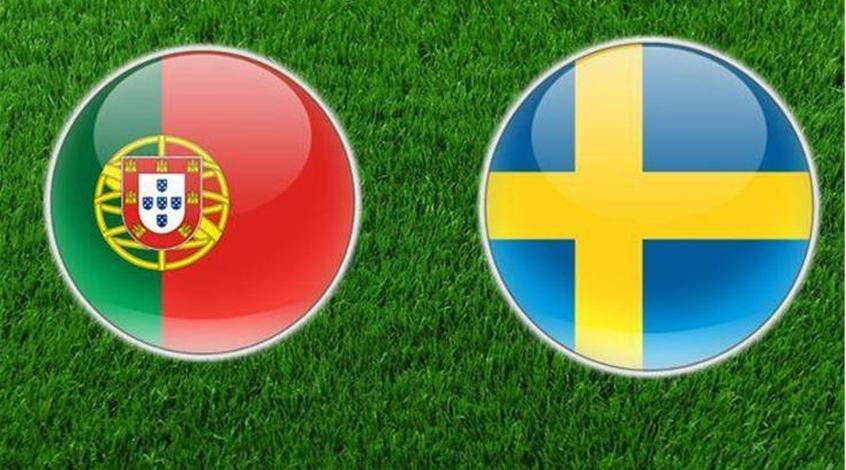 Товарищеские матчи: Швеция обыграла Португалию, проигрывая 0:2