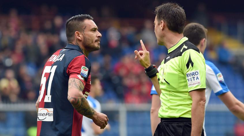 Маурисио Пинилье впаяли пять матчей дисквалификации