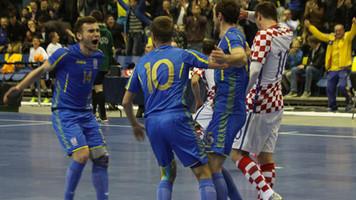 Футзал. Отбор к ЧЕ-2018. Украина побеждает Хорватию и добывает путёвку на Евро