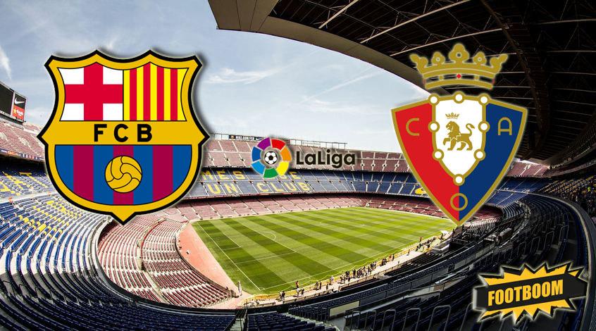 Барселона осасуна история встреч