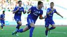 Украинцы в Узбекистане: Владимир Баенко забивает дебютный гол