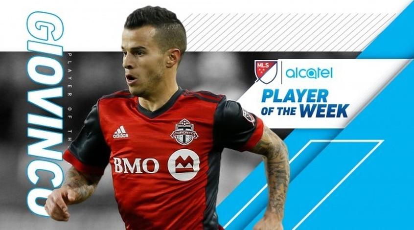 Себастьян Джовинко - лучший игрок 27-й игровой недели MLS (Видео)