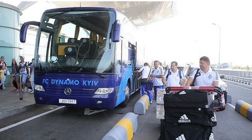 """""""Динамо"""" U-19 вирушило на збір до Туреччини"""