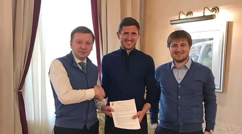 """Шахтер"" продлил контракт с Кривцовым"