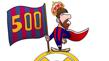 Футбол в карикатурах: день рождения Лионеля Месси (Видео)
