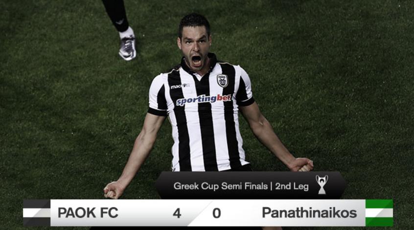 Украинцы в Греции: Шахов забивает, ПАОК выходит в финал Кубка (Видео)