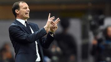 """Массимилиано Аллегри: """"Милан"""" был хорош в первой половине матча"""""""