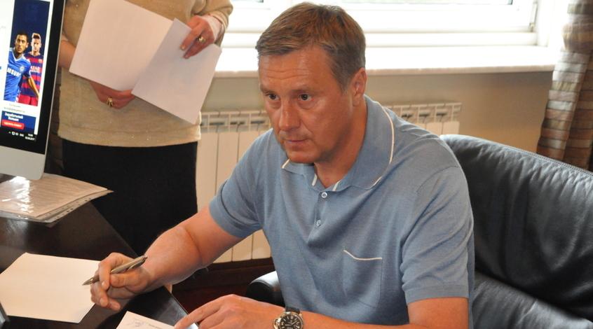Встреча Суркиса с Хацкевичем состоится на следующей неделе