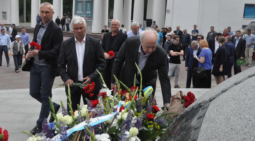 Как открывался 14-й Мемориал Лобановского (+Фото)