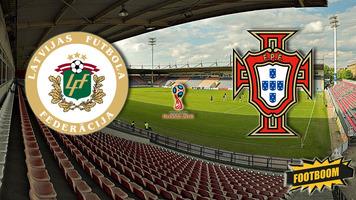 Отбор к ЧМ-2018. Латвия - Португалия 0:3 (Видео)