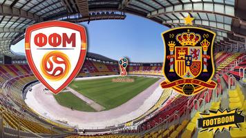 Отбор к ЧМ-2018. Македония - Испания 1:2 (Видео)