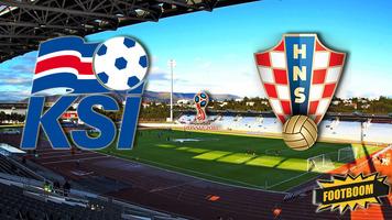 Отбор к ЧМ-2018. Исландия - Хорватия 1:0 (Видео)