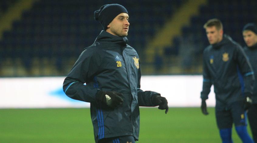 Ярослав Ракицкий пропустит игру с Турцией