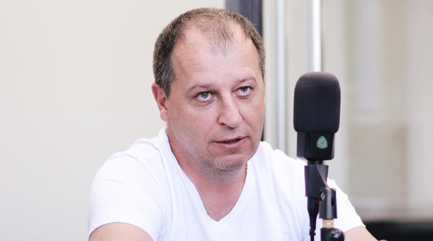 """""""Заря"""" - """"Герта"""": предматчевая пресс-конференция Юрия Вернидуба"""