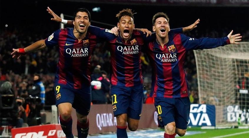 """Футбол в карикатурах: как распалась звездная тройка """"Барселоны"""" MSN (Видео)"""