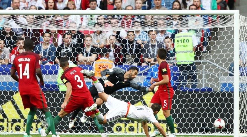 Португалия – Мексика 2:2. Играть надо головой!